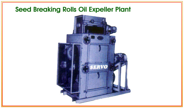 Seed Breaking Rolls Oil Expeller Plant