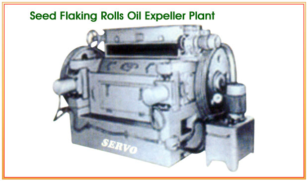 Seed Flaking Rolls Oil Expeller Plant