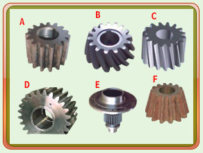 Oil Mill, Sugar Mill, Cement Plant Gears